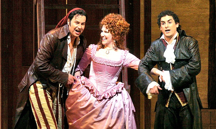 "Rossini's madcap comedy ""Il Barbiere di Siviglia"" receives a spirited production by Tony Award–winning director Bartlett Sher and stars mezzo-soprano Joyce DiDonato, tenor Juan Diego Flórez, and baritone Peter Mattei. Maurizio Benini conducts."