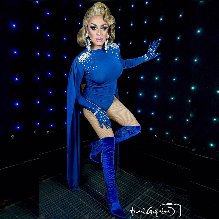 "Aimee Justice is the star of the Main Stage's ""Summer Drag Show"" on Saturday in Cottonwood."