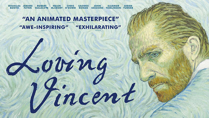 Free adult summer movie series: Loving Vincent July 9