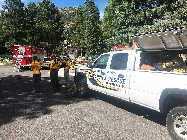 From July 3-7, Coconino County Sheriff's Office responded to 1,239 total calls for service. The department said this number is similar to that of the previous non-holiday period. (Photo/CCSO)
