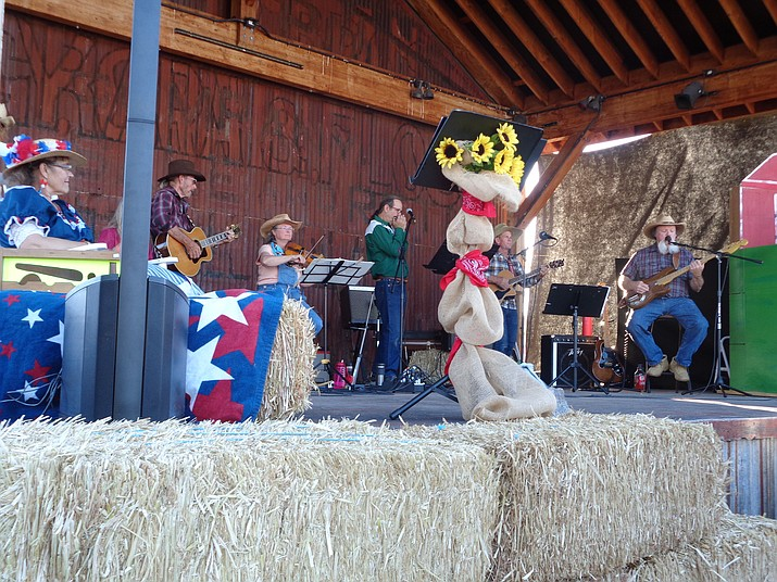Williams residents and visitors enjoyed Hee Haw style entertainment July 6 during the annual Grand Opry Night. (WGCN/photo)