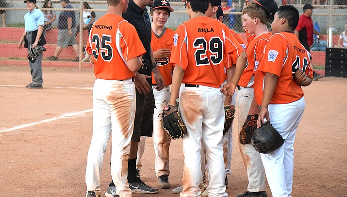 Little League Juniors fall to Verde, Chino Valley at District 10 All-Star tournament
