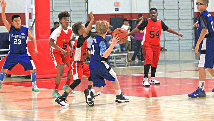 Applications accepted for Flagstaff's National Junior Basketball program
