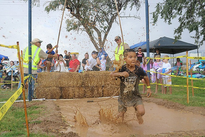 Mighty Mud Mania, one of Kingman's longest-running traditions, provides a great opportunity to get out with friends and family for a day of muddy fun. (Daily Miner file photo)