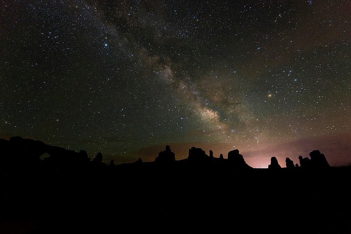 Arches National Park in southern Utah is now certified as an International Dark Sky Park. (Photo/Arches National Park Facebook)