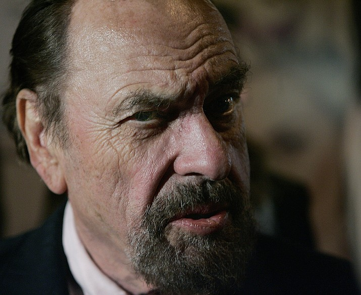 """FILE - In this Friday, Oct. 13, 2006, file photo, actor Rip Torn attends the New York premiere of """"Marie Antoinette."""" Award-winning television, film and theater actor Torn has died at the age of 88, his publicist announced Tuesday, July 9, 2019. (Stephen Chernin/AP, File)"""