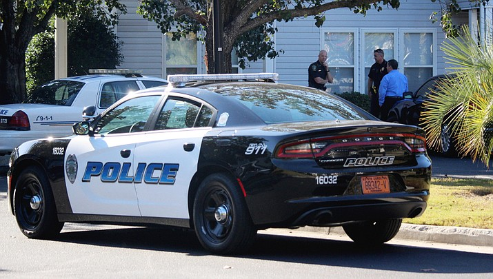 The proposed purchase of four Dodge Chargers for the Prescott Valley Police Department, as pictured here, is among five vehicle requests the Town Council will consider Thursday, July 11, 2019. (Courier file photo)