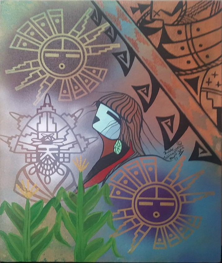 Buddy Tubinaghtewa painting (Courtesy)