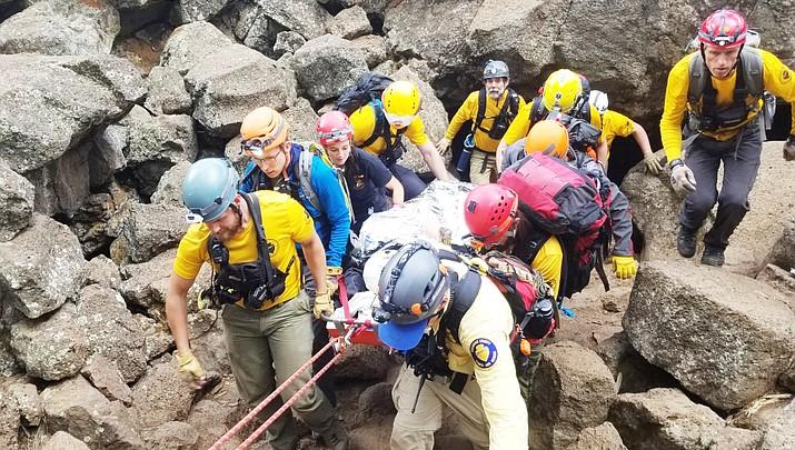 Sheriff's Office rescues woman from Lava Caves