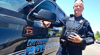 Going full circle: Old pro is 'Rookie of the Year' for Cottonwood PD photo