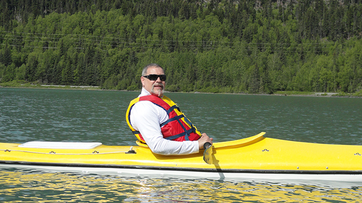 Kingman resident Porter Pollard will paddle some 500 miles to benefit veterans, first responders. Can you help him?