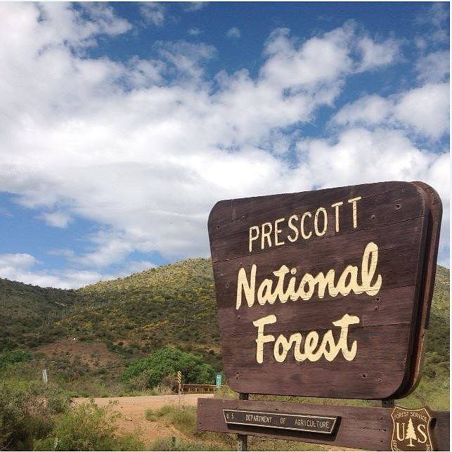As monsoon thunderstorms crossed portions of the Prescott National Forest this afternoon, firefighters have been busy chasing smoke reports across the forest. (PNF/Courtesy)