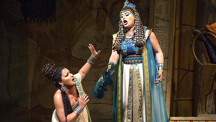 "Soprano Anna Netrebko and mezzo-soprano Anita Rachvelishvili offer blazing performances in Verdi's grand drama of ancient Egypt ""Aida"", seen in a stunning production by Sonja Frisell. Nicola Luisotti conducts."