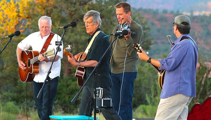 """Thunder & Lightnin' is known for a wide and varied treatment of genres using traditional mountain music instruments, audiences anticipate featured segments of tunes from the Eagles and a bundle of popular Thunder & Lightnin' originals like """"Tomorrow's Girl"""", """"Alive or Dead"""", """"Here to Stay"""" and yes, """"Too Drunk to Fish."""""""