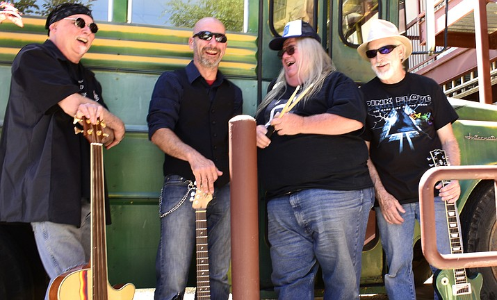 Vino Di Sedona welcomes Latex Johnny July 20, 7-10 p.m. Latex Johnny is one of the Verde Valley's newest rock bands with influences from early 60's garage bands like the Sonics, to blues legends like Delbert McClinton, to AC/DC, and Van Halen.