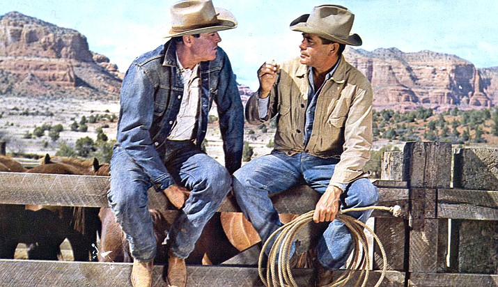 The Rounders, a 1965 modern western film set in Sedona starred Henry Fonda and Glenn Ford as two aging cowpokes who bust broncos, charm local ladies and bet on outcomes at the rodeo.