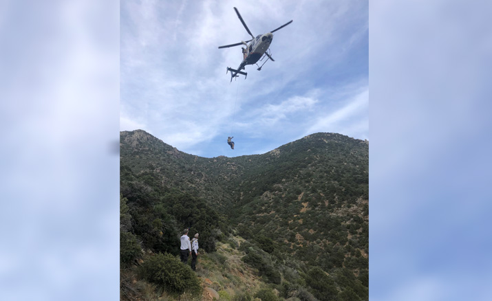 Prospector collapses, dies near Chloride
