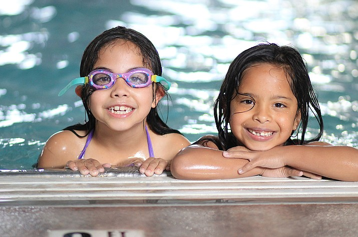 Williams Summer Rec participants had a chance to cool off at Williams Aquatic Center July 12. (Wendy Howell/WGCN)