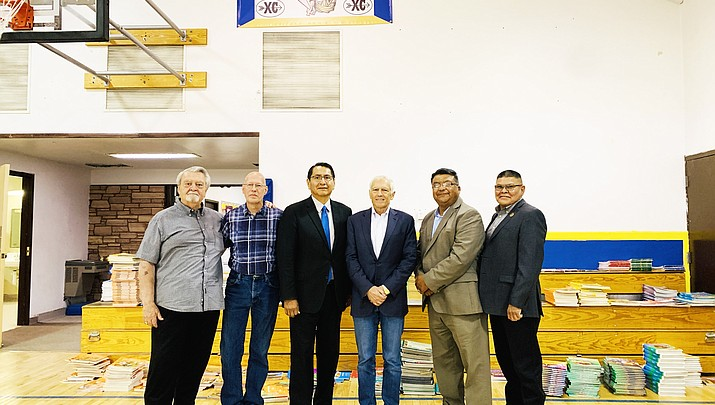 Navajo Nation welcomes Gen. Wesley K. Clark for renewable energy talks