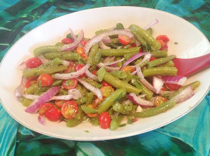 Summer Green Bean Salad. (Diane DeHamer/Courtesy)