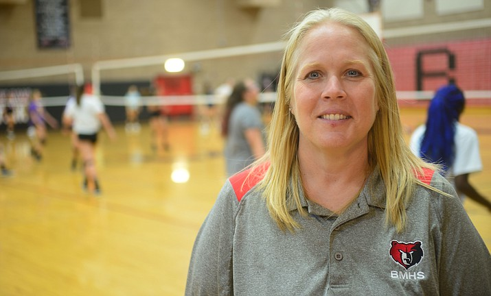 Clairinda Weatherwax, 44, is the new athletic director at Bradshaw Mountain. (Les Stukenberg/Courier)