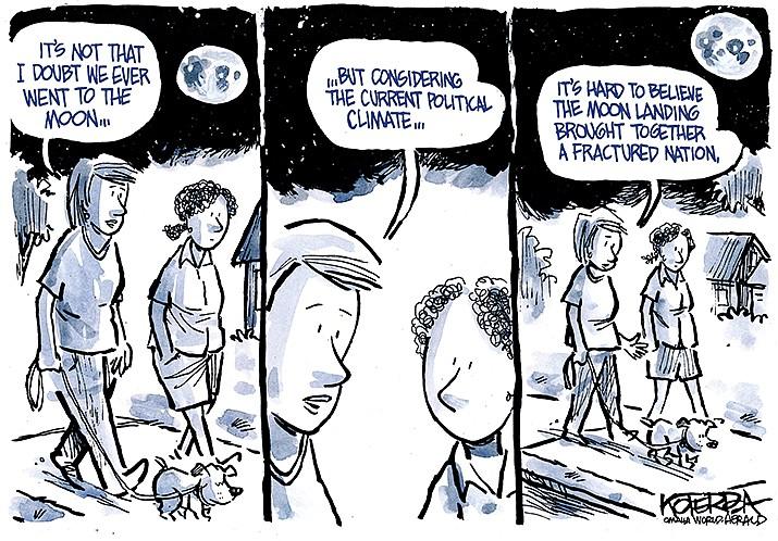 Editorial Cartoon   July 19, 2019