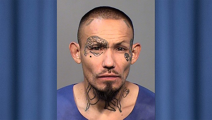 Greg Hernandez Romero, 33, of Congress faces charges of second-degree murder, aggravated assault and aggravated assault on a peace officer, the YCSO reported Friday, July 19, 2019. (YCSO/Courtesy)