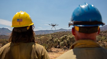 Drones become lifesaving tools for fighting wildfires photo