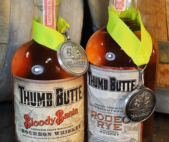 Thumb Butte Distillery wins awards
