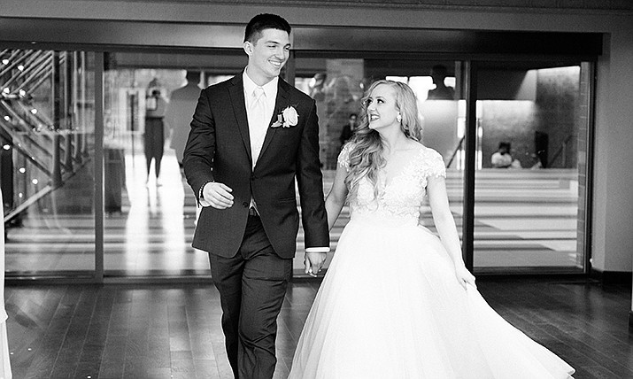 Anthony Joseph León and Mariah Sky Franklin were married on Sunday, May 26, 2019.  (Courtesy)