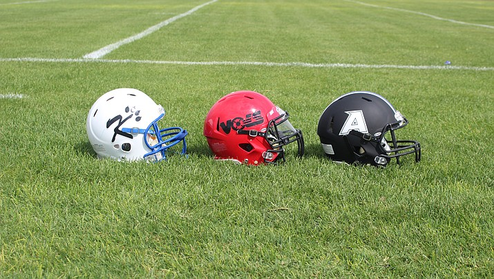 All three local football teams will open the 2019 season on the road Friday, Aug. 23. Lee Williams battles Lake Havasu, while Kingman faces Pinon and Kingman Academy travels to St. Johns. (Daily Miner file photo0