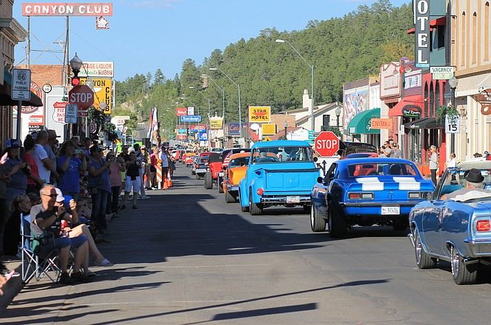 Last year alone, Route 66 plate sales totaled more than $231,000. While $8 of the $25 plate is used for administrative purposes, the remaining $17 goes to the Historic Route 66 Association of Arizona. (Wendy Howell/WGCN)