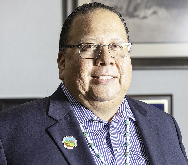 Gila River Indian Community Governor Steven Lewis spoke about Missing and Murdered Indigenous Women during a recent conference. (Photo/GRIC Governor's Office)