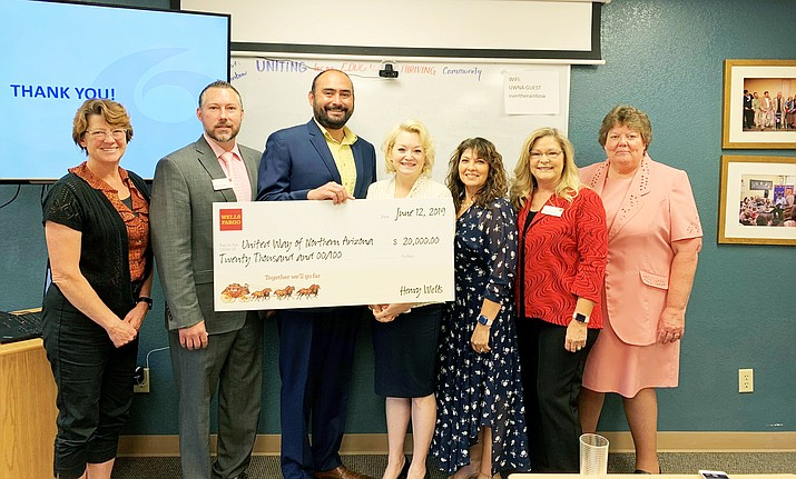 Wells Fargo is making sure local children start off their school careers on the right foot by donating $20,000 to the KinderCamp™ summer program including Kindercamps in Winslow and Page. (Submitted photo)