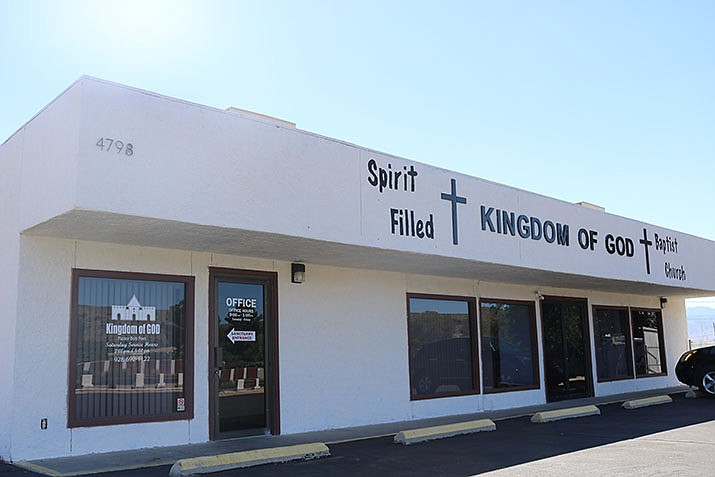 Kingdom of God Baptist Church turned to the community for help for a vital roofing project. (Photo by Travis Rains/Daily Miner)