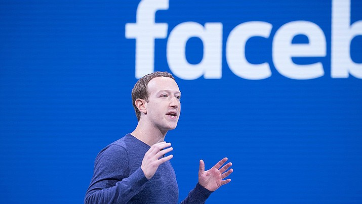 Facebook CEO Mark Zuckerberg makes the keynote speech at F8 in 2018. Michelle Richardson, director of privacy and data for the Center for Democracy and Technology, said it's possible that accountability measures imposed in July 2019 on Zuckerberg, who must personally certify compliance, may give the company pause before launching new services that could threaten users' privacy or data security. (Anthony Quintano, cc-by-sa-2.0, https://bit.ly/2Mop5on)