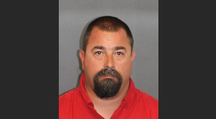 Dean Paul Tarnow, of Lake Havasu City, was arrested for luring a minor under the age of 15 for sexual exploitation. (Mohave County Sheriff's Office photo)