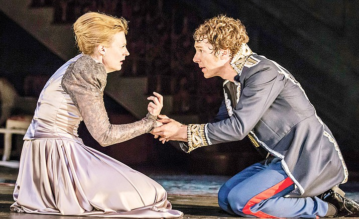 """The Sedona International Film Festival hosts the big screen encore of the National Theatre of London's """"Hamlet"""" — starring Oscar-nominee Benedict Cumberbatch, right — on Sunday, Aug. 4 at 3 p.m. at Mary D. Fisher Theatre."""