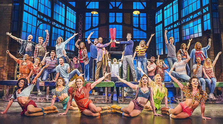 """The Sedona International Film Festival is proud to present the Northern Arizona premiere of the lavish Tony Award-winning musical """"Kinky Boots"""" from London's West End Aug. 2-7 at the Mary D. Fisher Theatre. Courtesy photo"""