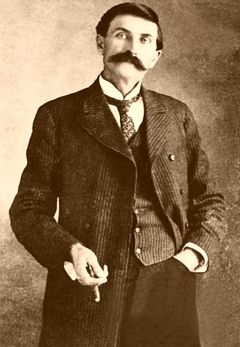 Image of Pat Garrett. Garrett shot and killed Billy the Kid on July 14, 1881 in Fort Sumner, New Mexico. (Courtesy of the author)