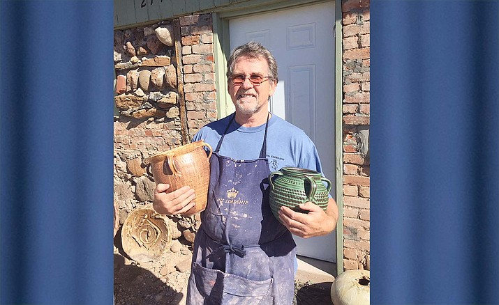 The Village Gallery of Local Artists will feature ceramicist Ken Barnes during the month of August.