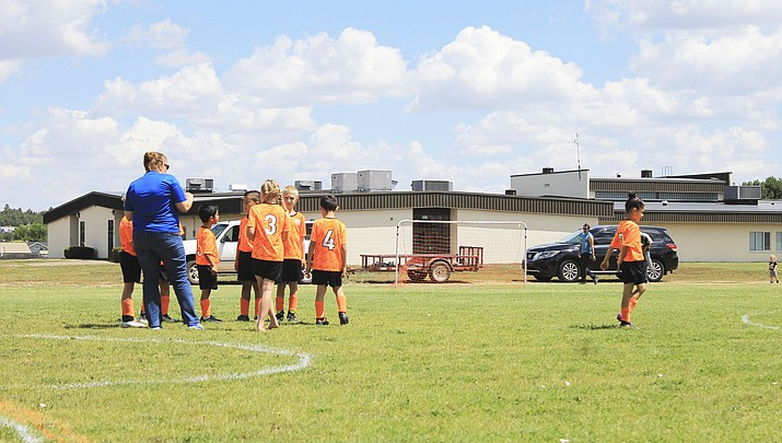 AYSO teams take the field in Williams