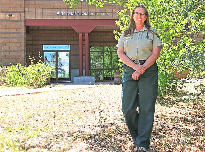Debra Mollet has been selected as the new District Ranger for the Williams and Tusayan Ranger Districts in Kaibab National Forest. (Wendy Howell/WGCN)