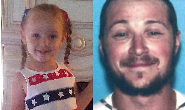 Gracelynn Scritchfield and Arlie Edward Hetrick III may have been seen in Williams. An Amber Alert has been issued for Scritchfield. (Photo/DPS)