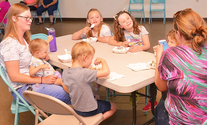 On July 18, Winslow Library held its last summer event. (Todd Roth/NHO)