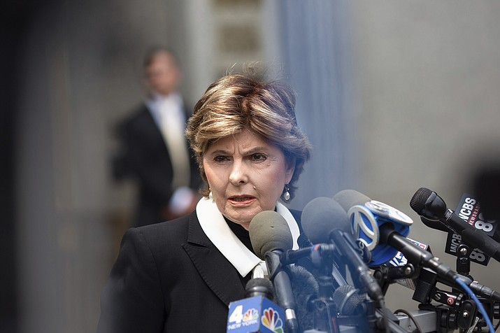 Attorney Gloria Allred addresses the media after attending a preliminary conference in the sexual misconduct trial of Jeffrey Epstein Wednesday, July 31, 2019, in New York. District Judge Richard M. Berman said Wednesday that June 2020 is the earliest Epstein will stand trial on sex trafficking and conspiracy charges. He has pleaded not guilty and is currently being held in a Manhattan jail. (Kevin Hagen/AP)