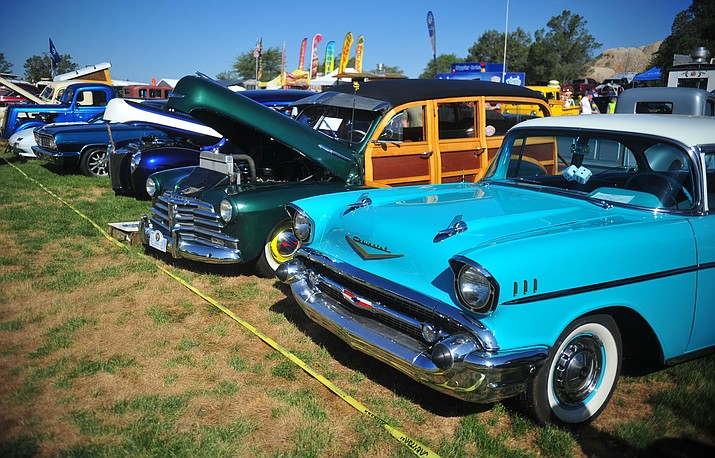 This photo taken at the the 44th Annual Prescott Antique Auto Club Watson Lake Car Show. (Les Stukenberg/Courier)