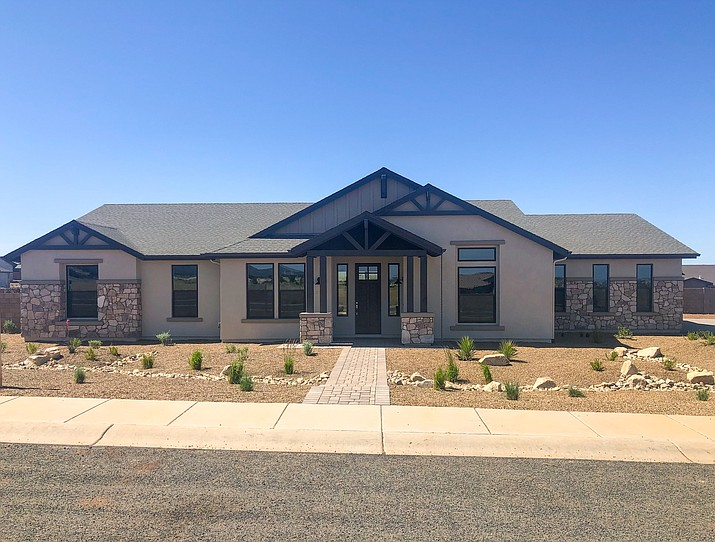 A new home on Rifle Way in the Mingus West subdivision in Prescott Valley recently won a U.S. Department of Energy Building Technologies Office award in the Housing and Innovation Award category. The home was built by local company Gardner Custom Homes. (Gardner Custom Homes/Courtesy)