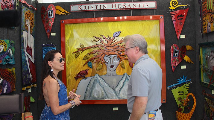 Held against the backdrop of Sedona's breathtaking red rock vistas, the Sedona Arts Festival will present its 29th annual fine art festival on Saturday, Oct. 12 and Sunday, Oct. 13.