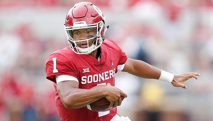 Kyler Murray and the Cardinals kick off the preseason Thursday night against the Chargers at State Farm Stadium. (Photo courtesy of Oklahoma Athletics)